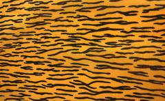 Tiger print Polyester fabric
