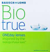 Bausch + Lomb BioTrue ONEday lens 90