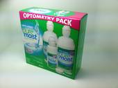Opti-free Pure Moist saving pack (2x 300ml 1x 120ml) 2 free lens cases