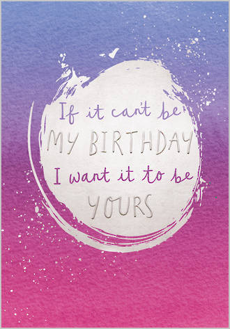 Lux Birthday Yours