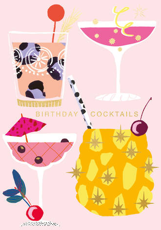 Boujee Birthday Cocktails