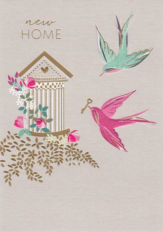 New Home Card Sara Miller