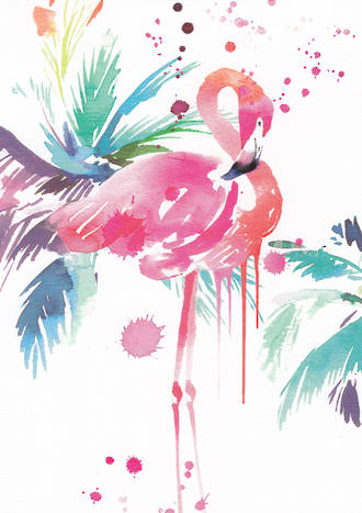 A Spell In The Wild Flamingo