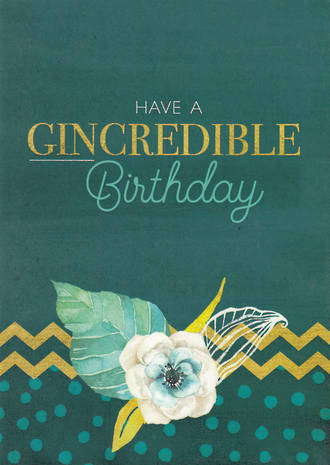Gold Dust Gincredible Birthday