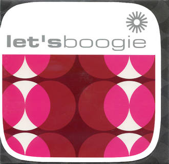 Blank Card Typographic Checkout Square Let's Boogie