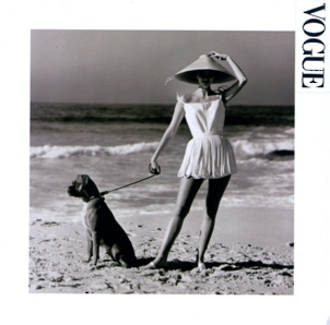 Blank Card Photographic Vogue Square in Australia Now