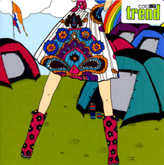 Blank Card Female Trend Festival Fever