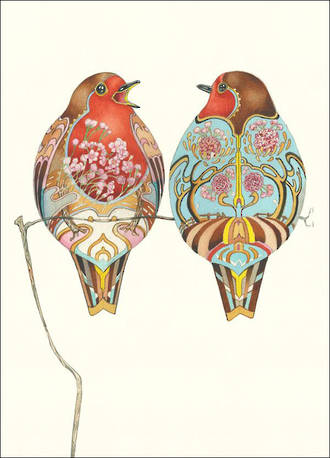 DM Collection Two Robins