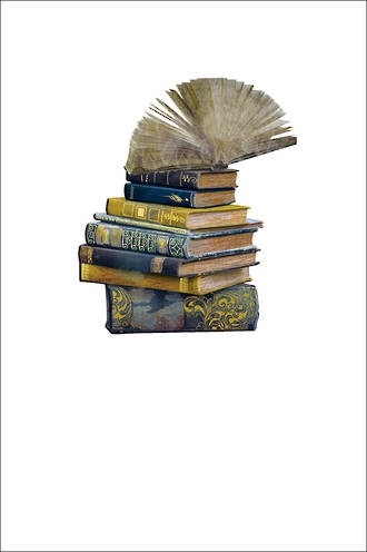 Icones Stack of Books