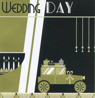Mini Card Art Deco Wedding