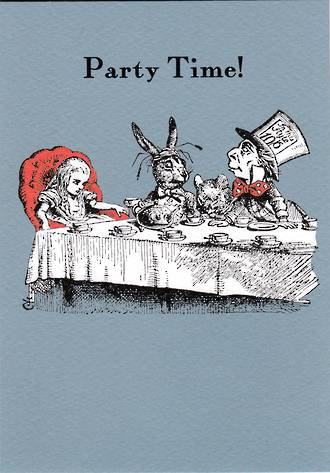 Alice In Wonderland Party Time