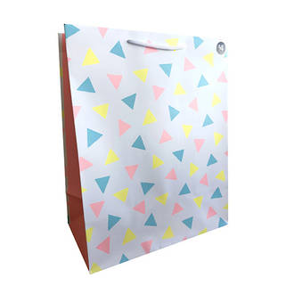 Large Gift Bag Baby Triangles