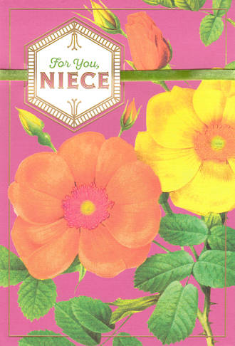 Niece Birthday Card Hallmark Flowers
