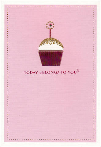 Hallmark Female Birthday Card Today Belongs To You