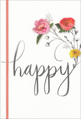 Birthday Card Female Hallmark Happy
