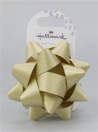 Bow Fabric Gold