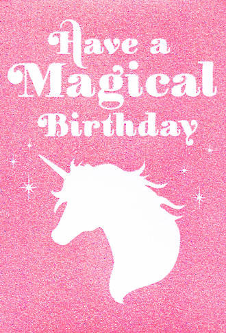 Happy By Hallmark Magical Birthday
