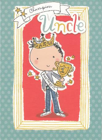 Uncle Birthday Card Hallmark Champion