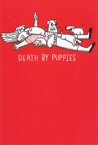 Shoebox Red Death By Puppies