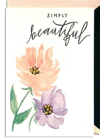 Hallmark Signature Birthday Female Simply