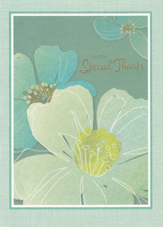 Thank You Card Hallmark Flowers