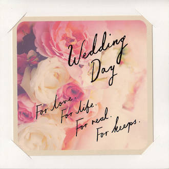 Wedding Card Hallmark Roses Picture