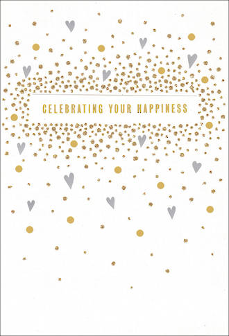 Wedding Card Hallmark Large Celebrate Happiness