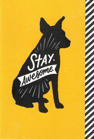 Woof & Purr Stay Awesome