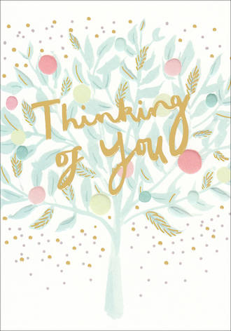 Sympathy Card Thinking Of You Louise Tiler
