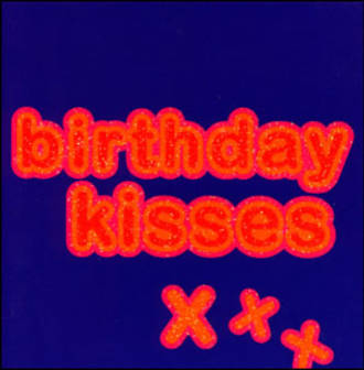 Birthday Card: Word Up Kisses