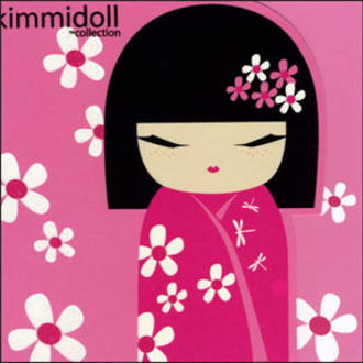 Female Birthday Card: Kimmidoll Sachi