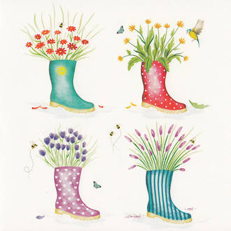 Blooming Wishes Gumboots