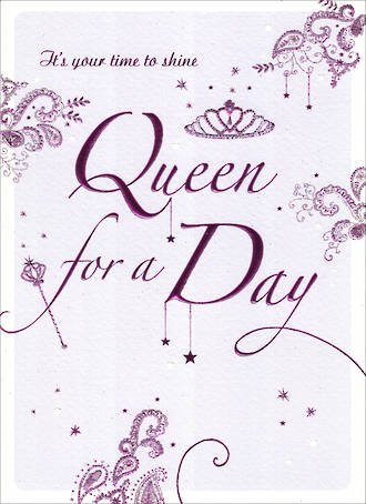 Filigree Queen For A Day