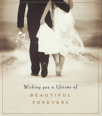 Wedding Card Love Unlimited Beautiful Forever