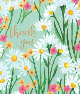 Thank You Card Hello Lovely