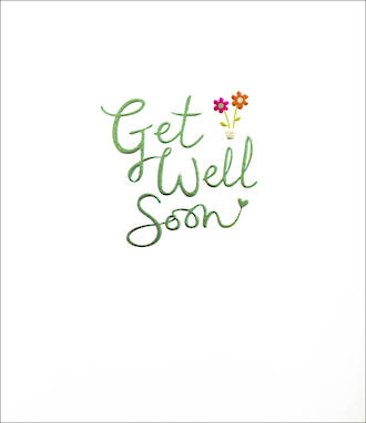 Get Well Card Mimosa