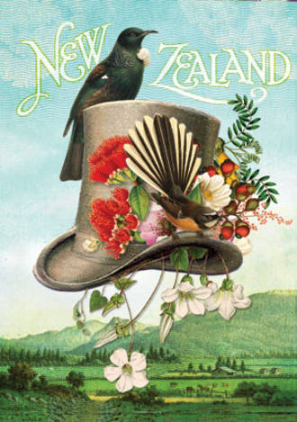 Pure NZ Botany Top Hat