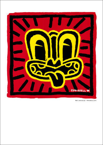 Pure NZ Dick Frizzell Red Haring