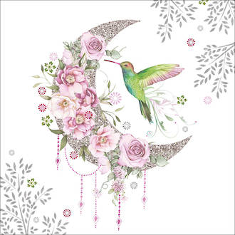 Lunch Napkins Paper Products Hummingbird Moon