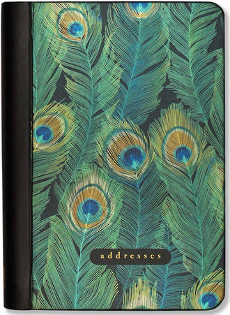A6 Address Book Feathers