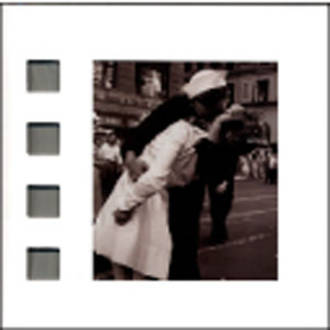 Blank Card Photographic Nero Kissing in Times Square