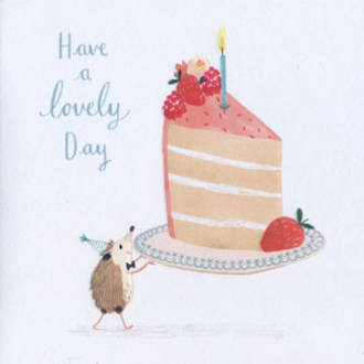 Periwinkle Lovely Day Cake