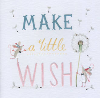 Periwinkle Make A Wish Mouse