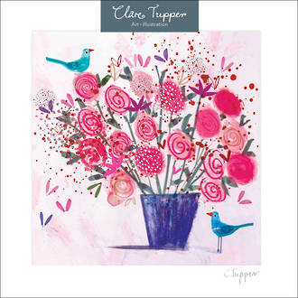 Clare Tupper Pink Flowers