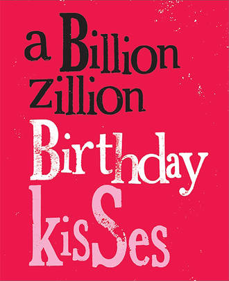 Bright Side Colour Birthday Kisses