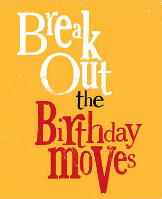 Bright Side Colour Birthday Moves