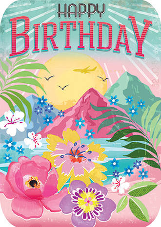 Retro Flair Birthday Islands