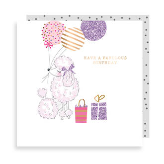 Sweet Little Things Birthday Poodle
