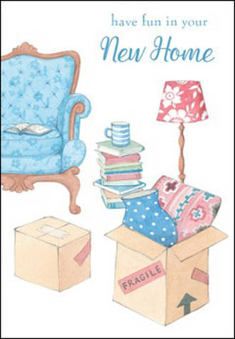 New Home Card Boxes & Chair