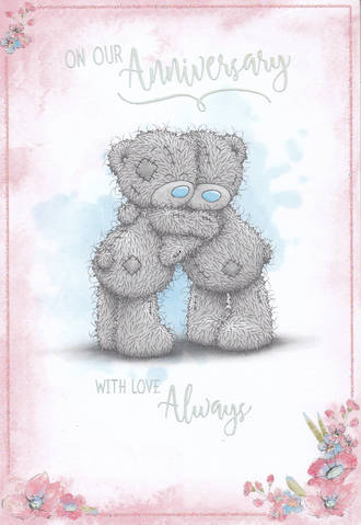 Anniversary Card Me To You Our Anniversary Bear Hug